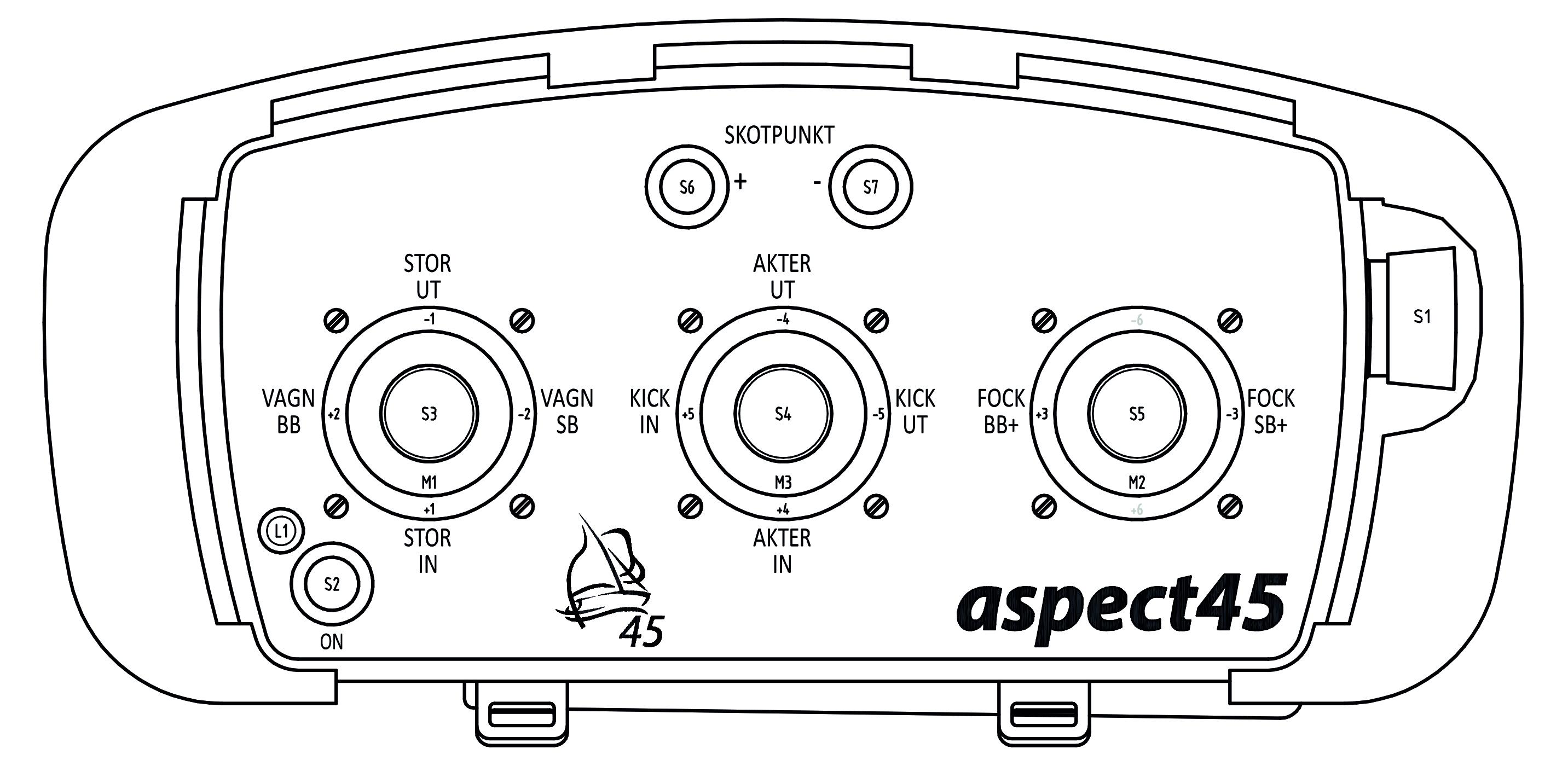 Aspect45 joystick